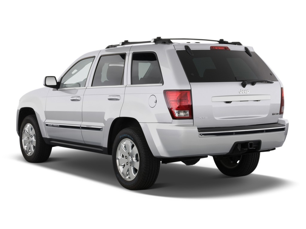 2010 jeep grand cherokee rwd 4 door limited angular rear exterior view. Cars Review. Best American Auto & Cars Review