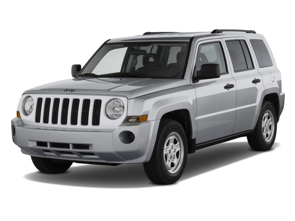 image 2010 jeep patriot fwd 4 door sport angular front. Black Bedroom Furniture Sets. Home Design Ideas