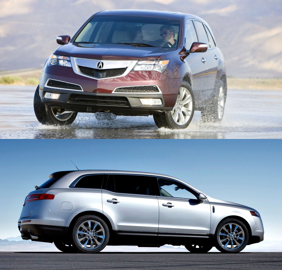 Compared: 2010 Lincoln MKT Vs. Acura MDX (Page 2