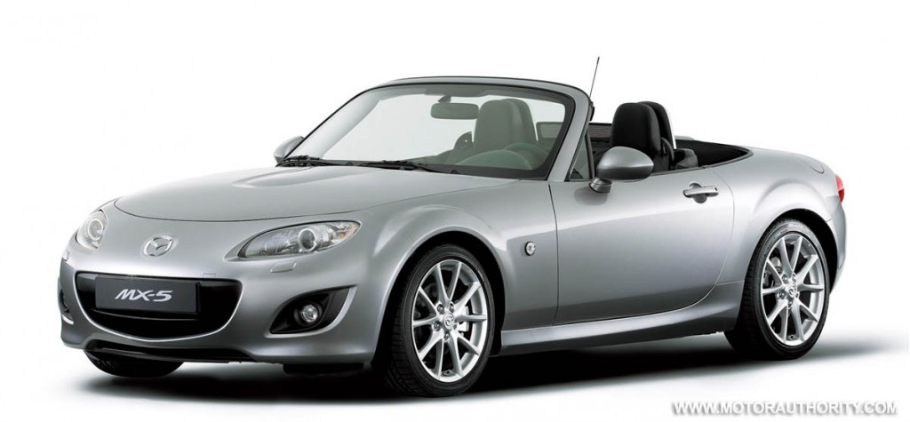 2009 mazda mx 5 makes north american debut at chicago auto. Black Bedroom Furniture Sets. Home Design Ideas
