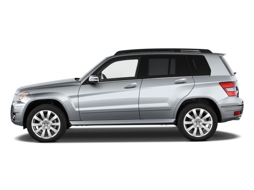 image 2010 mercedes benz glk class rwd 4 door side. Black Bedroom Furniture Sets. Home Design Ideas