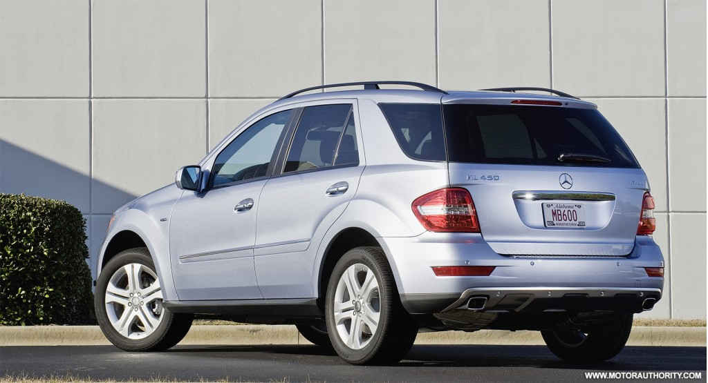 Mercedes benz to offer 58 blueefficiency models by end of 2009 for Mercedes benz ml450 hybrid