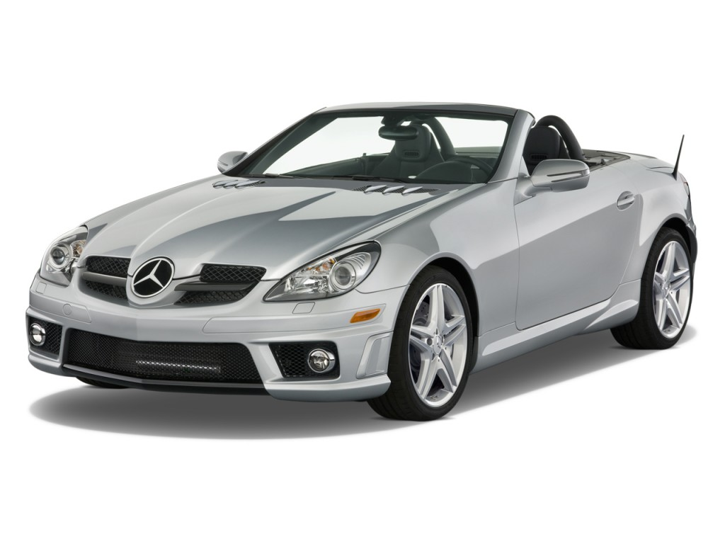 Image 2010 mercedes benz slk class 2 door roadster 5 5l for 2010 mercedes benz slk