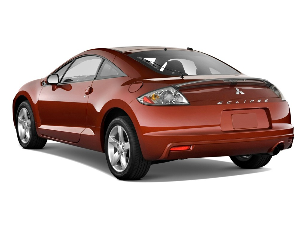 2010 Mitsubishi Eclipse 3dr Coupe Auto GS Angular Rear Exterior View