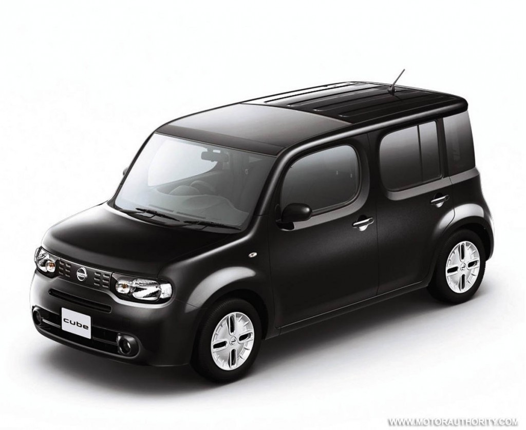 more details on u s spec nissan cube. Black Bedroom Furniture Sets. Home Design Ideas