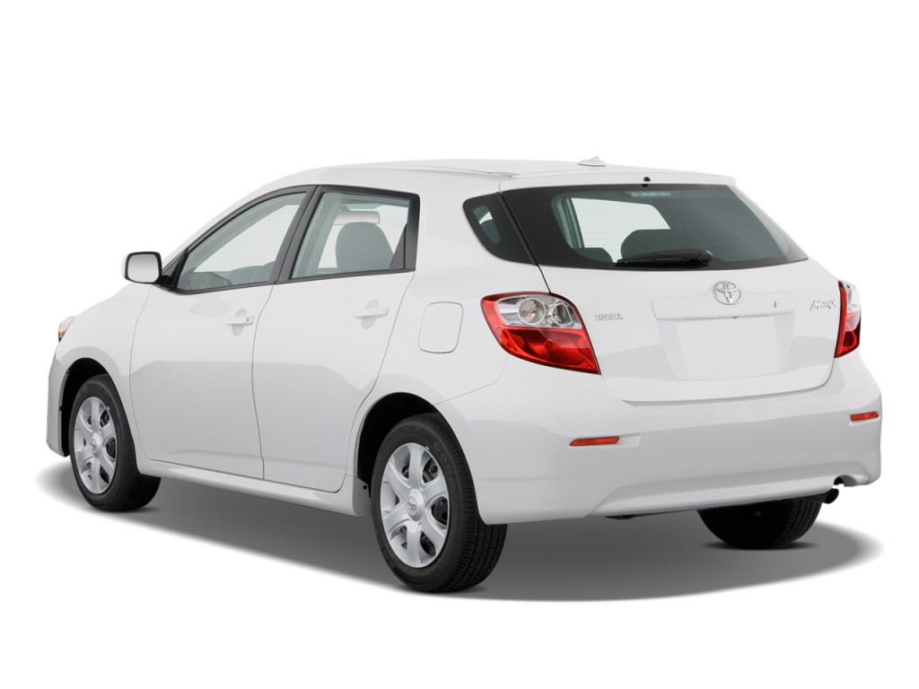 2010 Toyota Matrix 5dr Wagon Auto FWD (Natl) Angular Rear Exterior ...