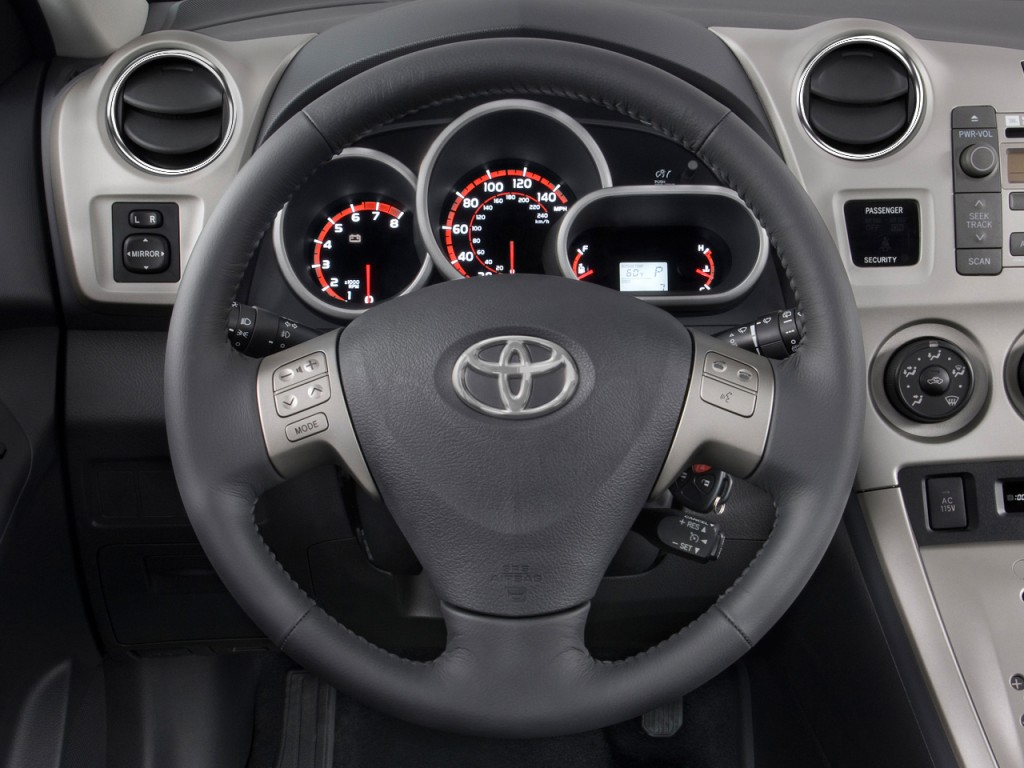 Image: 2010 Toyota Matrix 5dr Wagon Auto S FWD (Natl) Steering Wheel ...