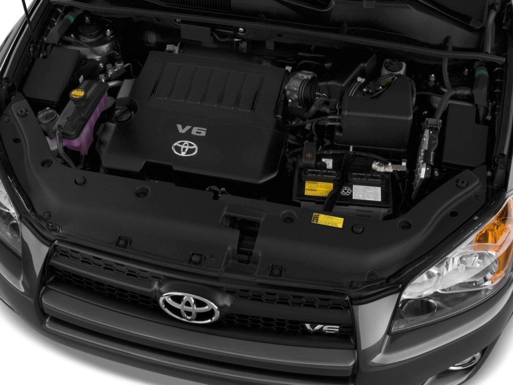 2010 Toyota Rav4 Fwd 4 Door V6 5 Spd At Sport Natl Engine
