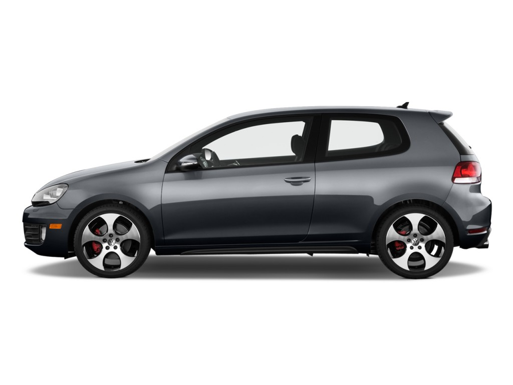 Image: 2010 Volkswagen GTI 2-door HB Man PZEV Side ...