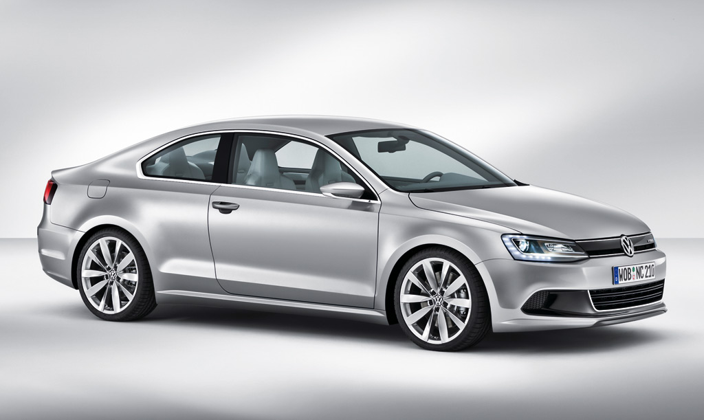 2010 Detroit Auto Show: New Compact Coupe Previews Jetta ...