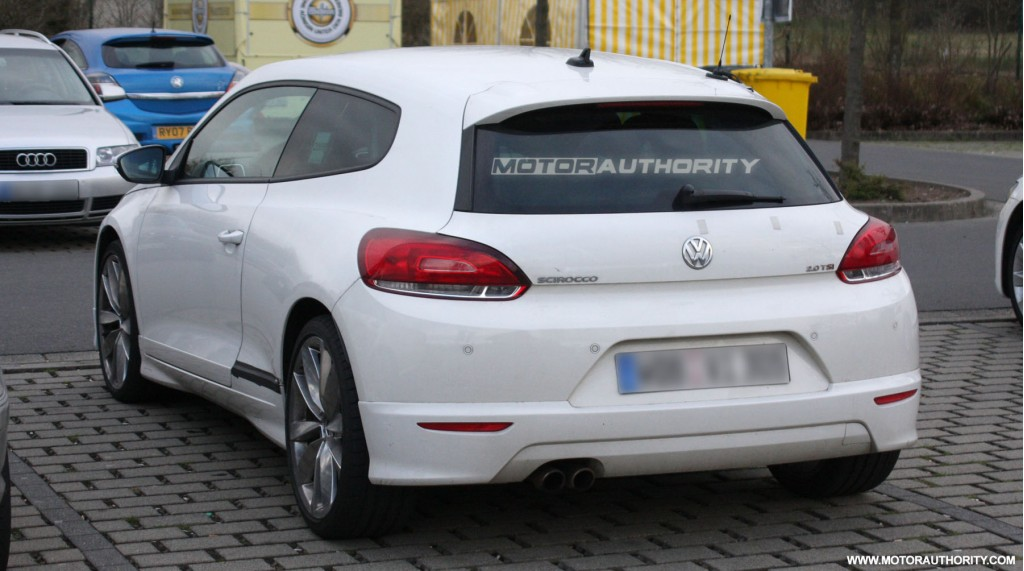 2010 volkswagen scirocco r20 spy shots april 008