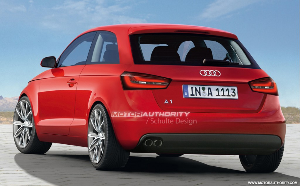 more details on u s bound audi a1 mini car. Black Bedroom Furniture Sets. Home Design Ideas
