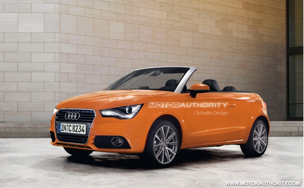 image 2011 audi a1 cabrio preview rendering size 1024 x. Black Bedroom Furniture Sets. Home Design Ideas