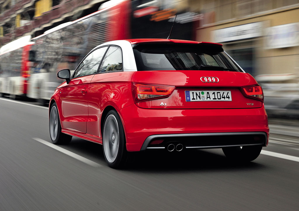 2011 audi a1 with s line sports package debuts. Black Bedroom Furniture Sets. Home Design Ideas