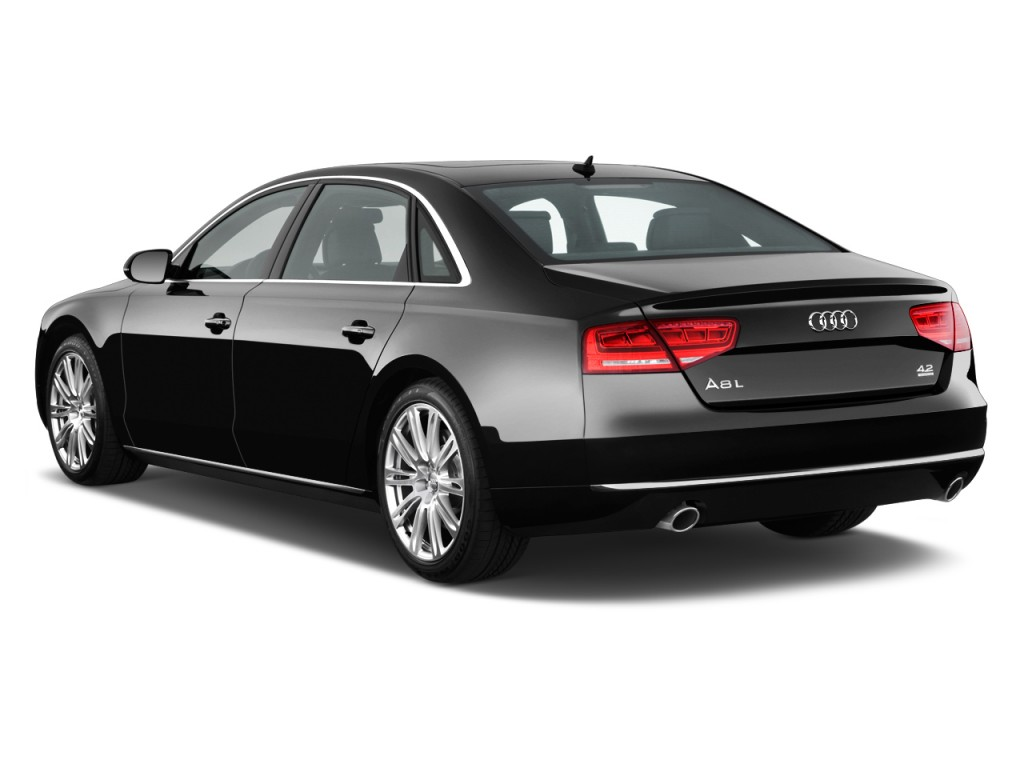 image 2011 audi a8 l 4 door sedan angular rear exterior. Black Bedroom Furniture Sets. Home Design Ideas