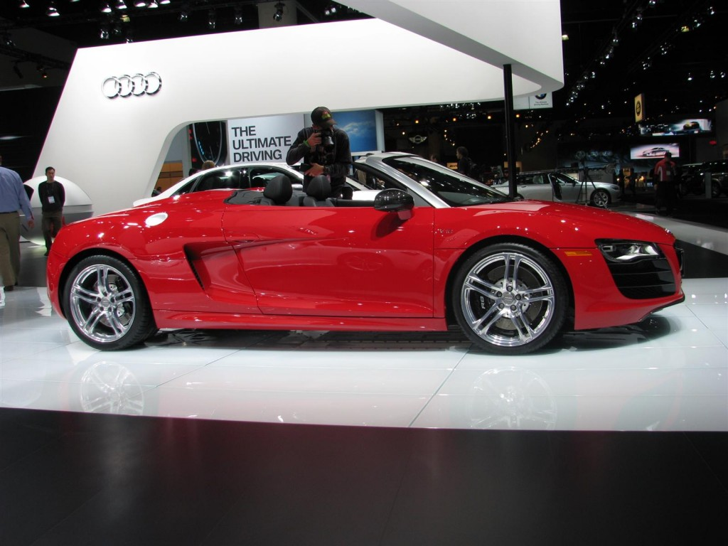 Gallery 2011 Audi R8 Spyder and e Tron Live From Los Angeles