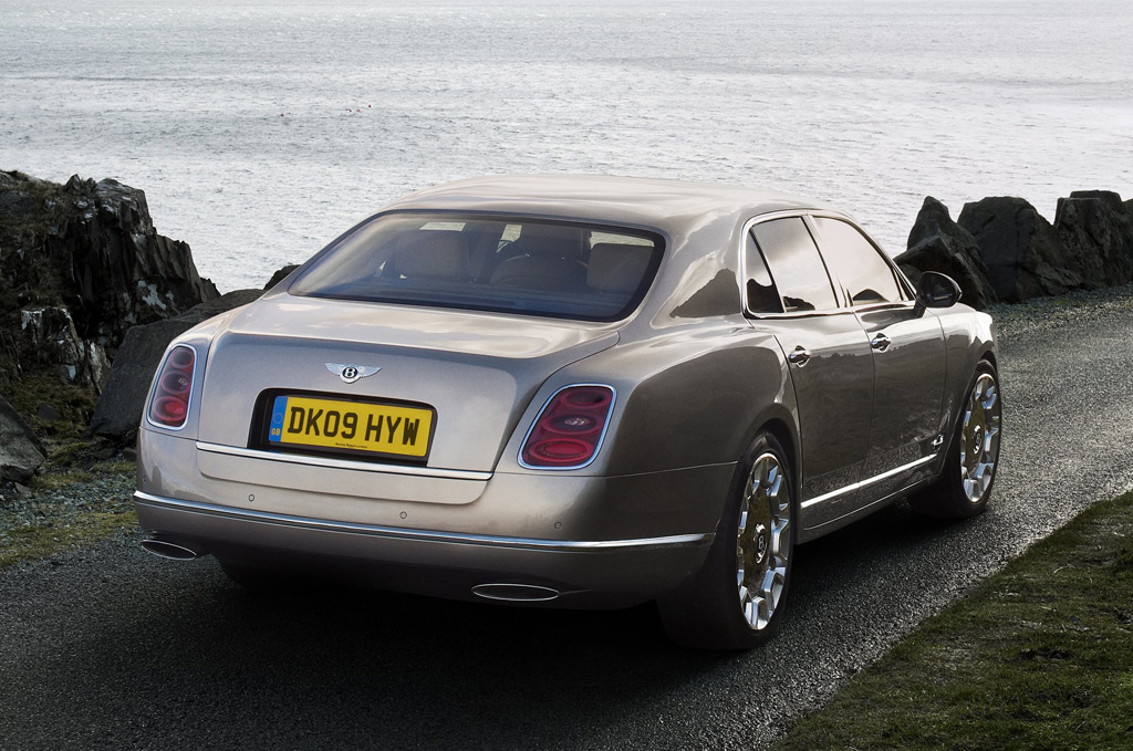 2011 Bentley Mulsanne Inside