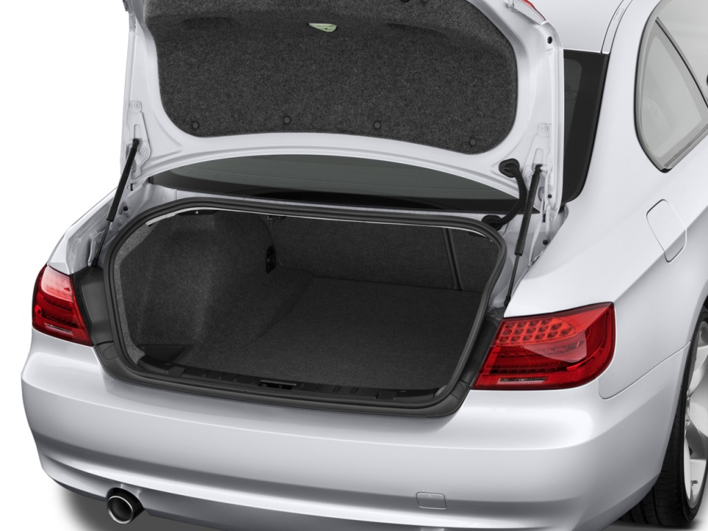 Image: 2011 BMW 3-Series 2-door Coupe 335i RWD Trunk, size ...