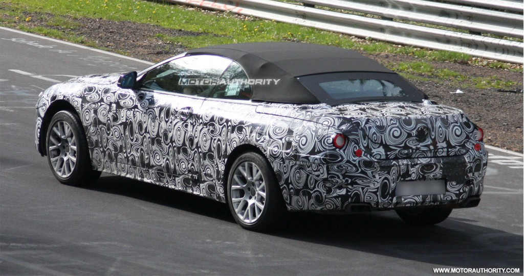 spy shots next gen bmw 6 series takes to the 39 ring. Black Bedroom Furniture Sets. Home Design Ideas