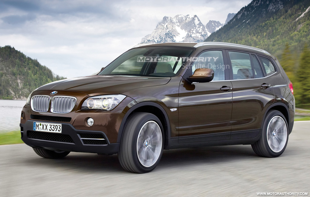 Rendered 2011 Bmw X3