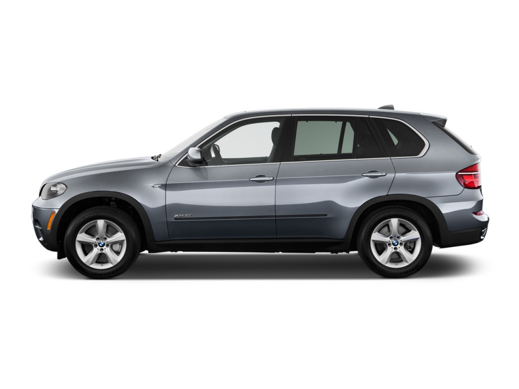 Image 2011 Bmw X5 Awd 4 Door 50i Side Exterior View Size