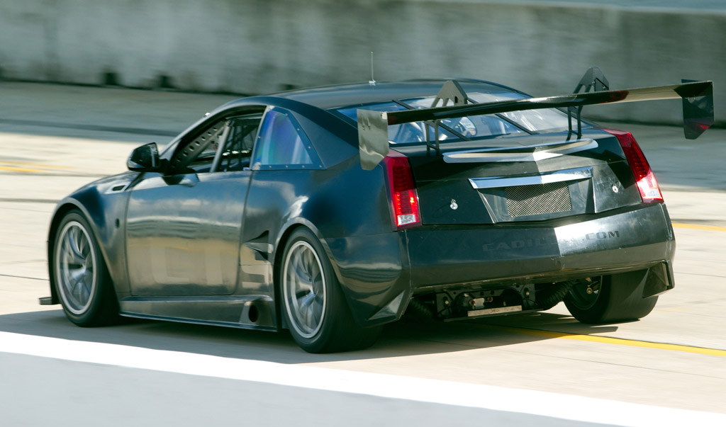 cadillac cts v coupe race car gets some track time. Black Bedroom Furniture Sets. Home Design Ideas