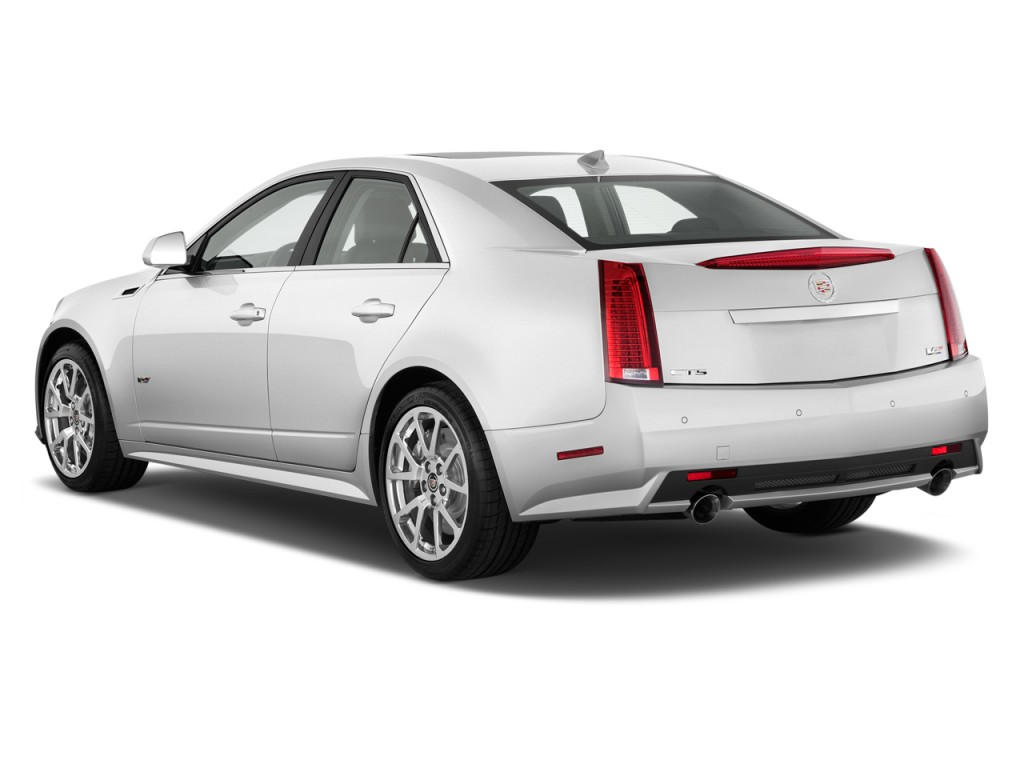 image 2011 cadillac cts v sedan 4 door sedan angular rear exterior view size 1024 x 768 type. Black Bedroom Furniture Sets. Home Design Ideas