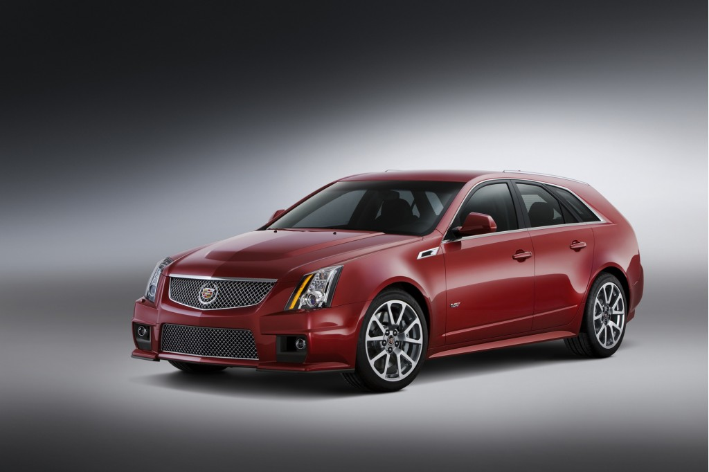 2011 Cadillac Cts V Sport Wagon Perfection In A Family Hauler