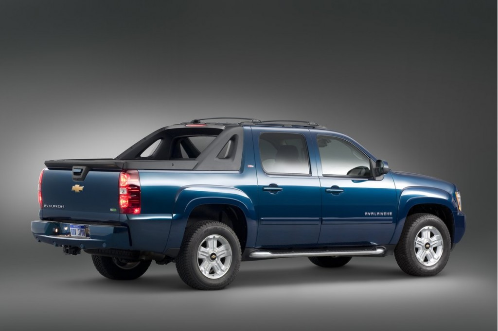 2011 Chevrolet Avalanche Chevy Pictures Photos Gallery