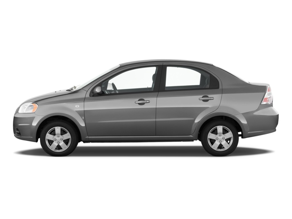 Chevrolet Aveo Door Sedan Ls Side Exterior View L on Chevy Aveo Spark Plug Recall