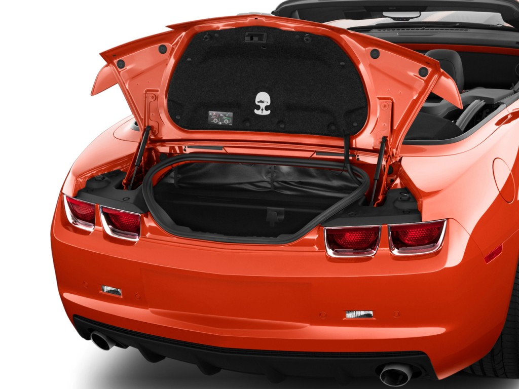 Image 2011 Chevrolet Camaro 2 Door Convertible 1ss Trunk