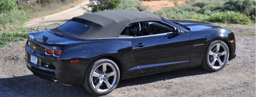 2011 chevrolet camaro ss convertible first drive. Black Bedroom Furniture Sets. Home Design Ideas