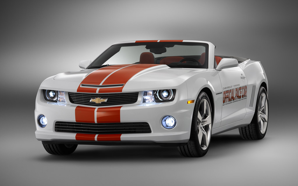 2011 chevrolet camaro ss convertible picked as indy 500 pace car. Black Bedroom Furniture Sets. Home Design Ideas
