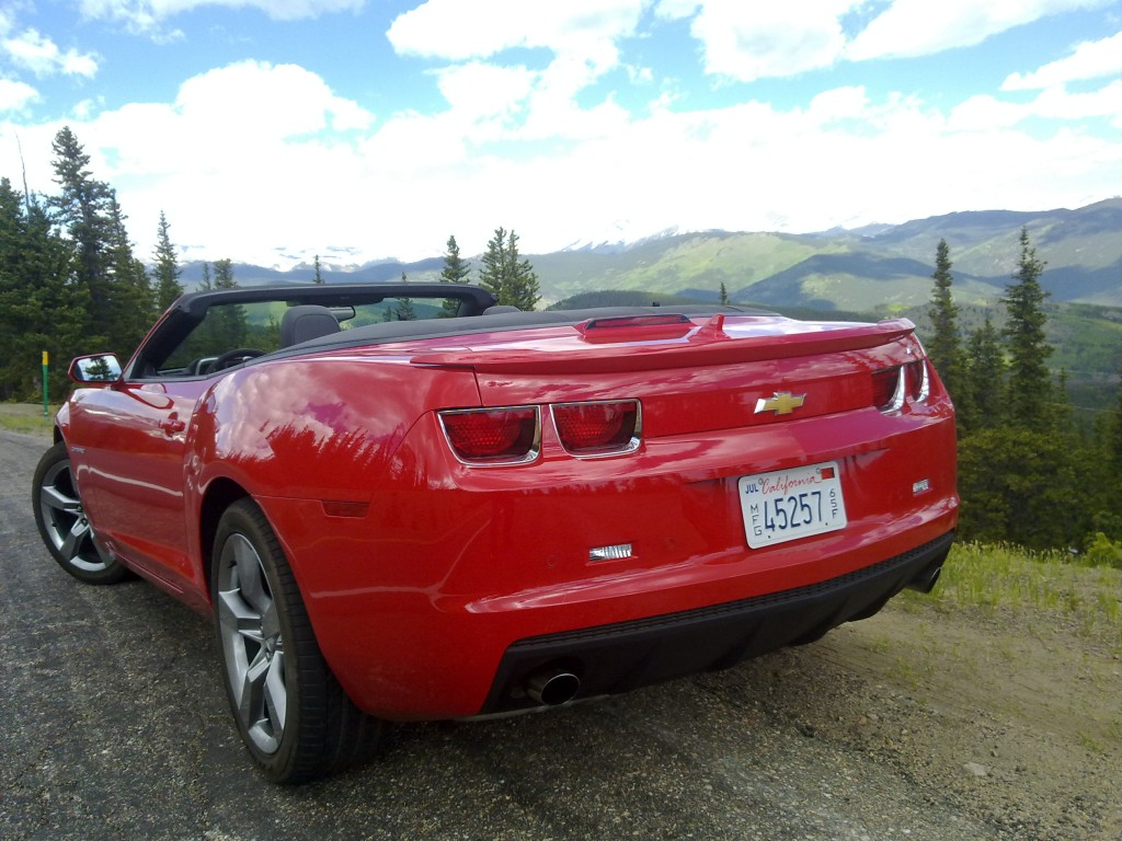 Image 2011 Chevrolet Camaro 2lt Rs In The Rocky Mountains