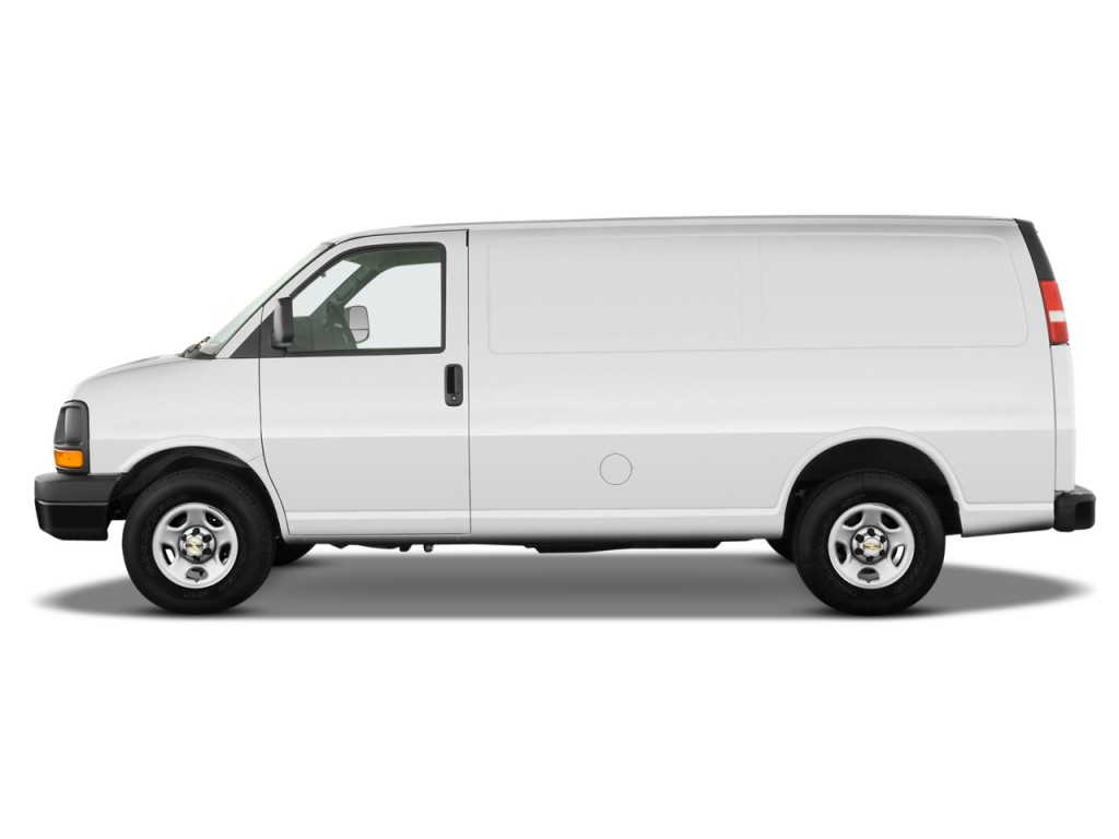 image 2011 chevrolet express cargo van awd 1500 135 side. Black Bedroom Furniture Sets. Home Design Ideas