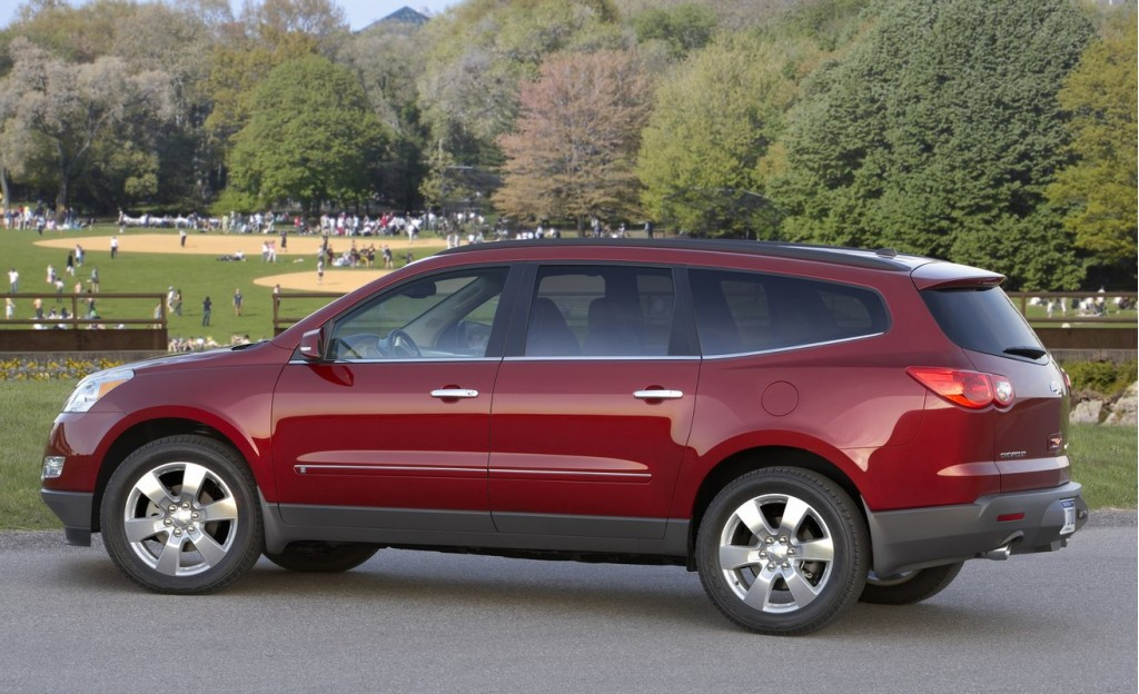Used Chevy Traverse >> 2011 Chevrolet Traverse (Chevy) Pictures/Photos Gallery - MotorAuthority