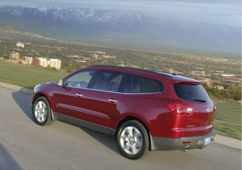 2011 chevrolet traverse chevy pictures photos gallery green car. Cars Review. Best American Auto & Cars Review