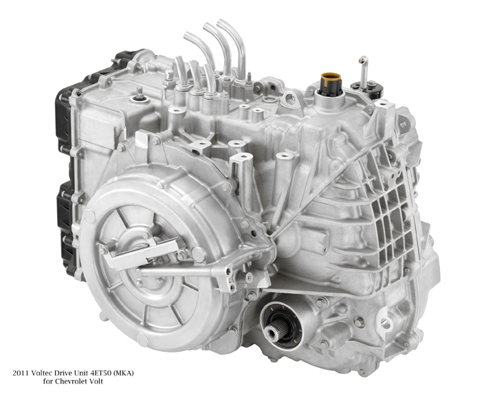 Image Voltec Electric Drive Unit On 2011 Chevrolet Volt