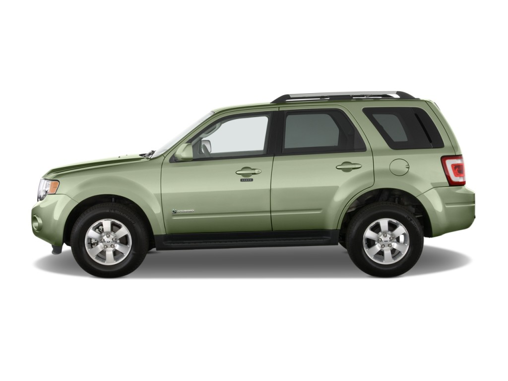 2011 ford escape fwd 4 door hybrid limited side exterior view. Cars Review. Best American Auto & Cars Review