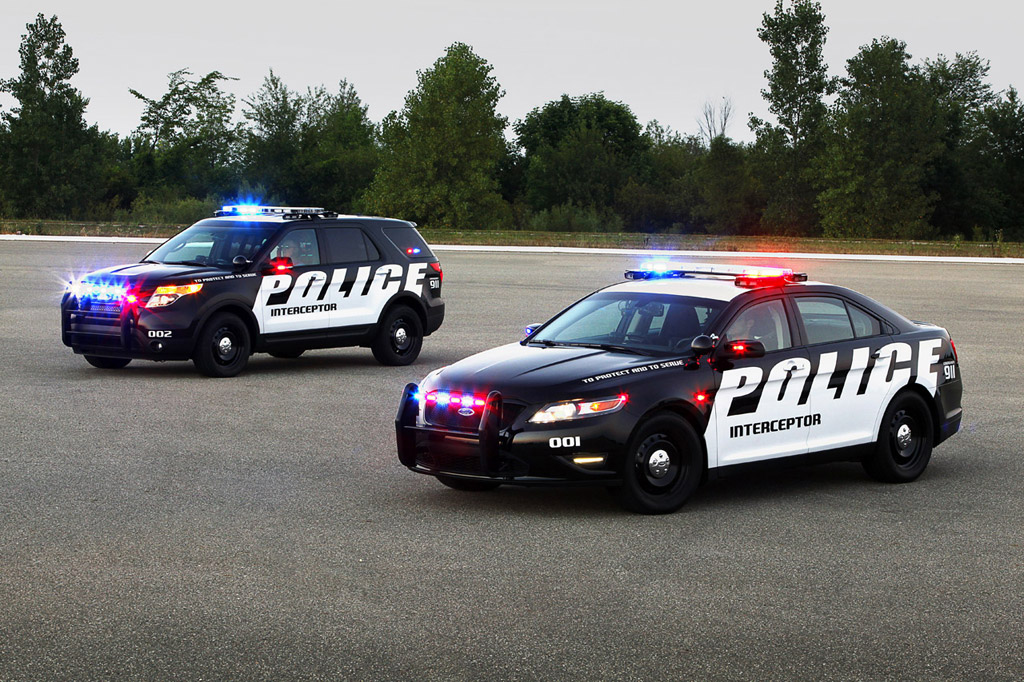 Ford's New Police Interceptors Maximize Economy And Performance