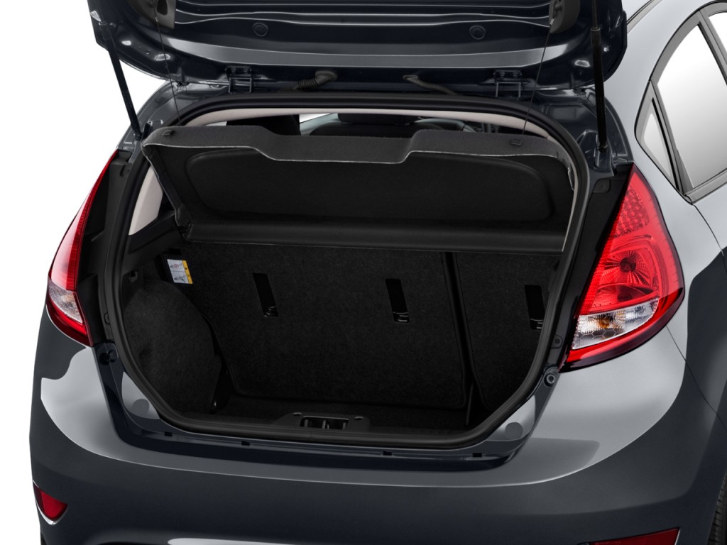 Image: 2011 Ford Fiesta 4-door HB SES Trunk, Size: 1024 X