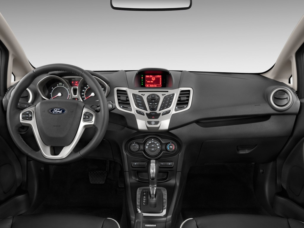Image 2011 Ford Fiesta 4 Door Sedan Sel Dashboard Size