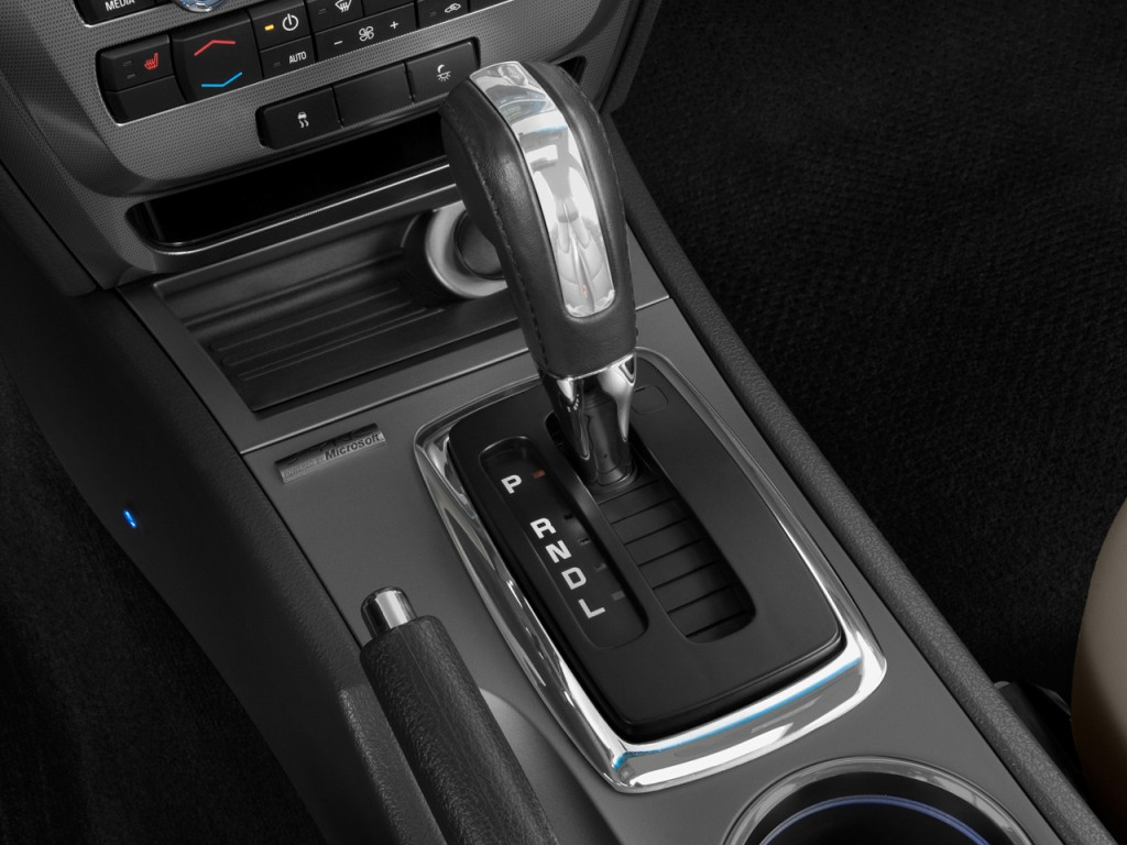 image 2011 ford fusion 4 door sedan hybrid fwd gear shift. Black Bedroom Furniture Sets. Home Design Ideas