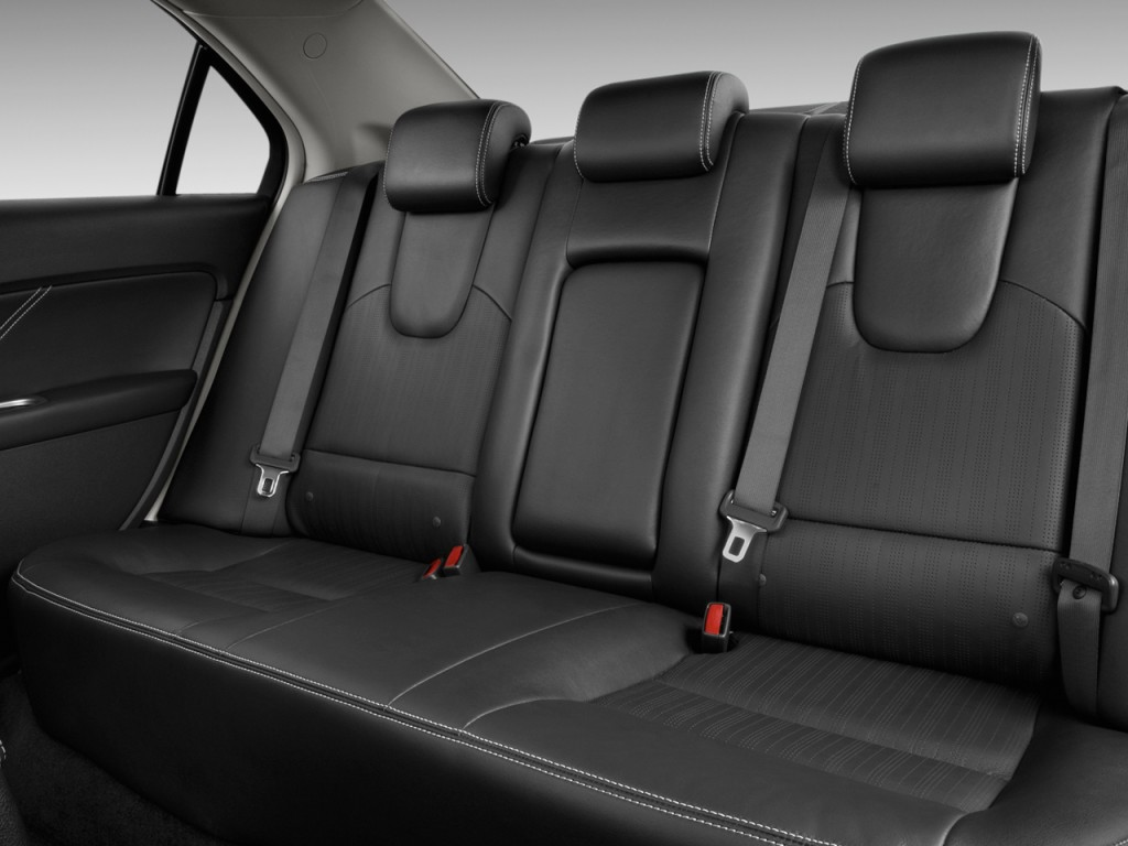 Image 2011 Ford Fusion 4 Door Sedan Sport Fwd Rear Seats