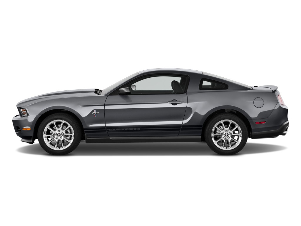 Image 2011 Ford Mustang 2 Door Coupe Premium Side