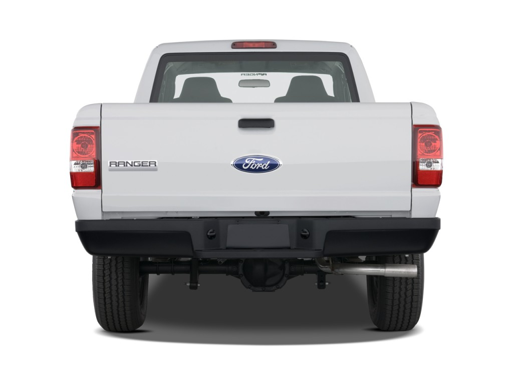 """New 2013 2014 Chrysler Dodge Jeep Ram And Used Car Dealer 2017  Image: 2011 Ford Ranger 2WD 2-door SuperCab 126"""" XL Rear Exterior View ..."""