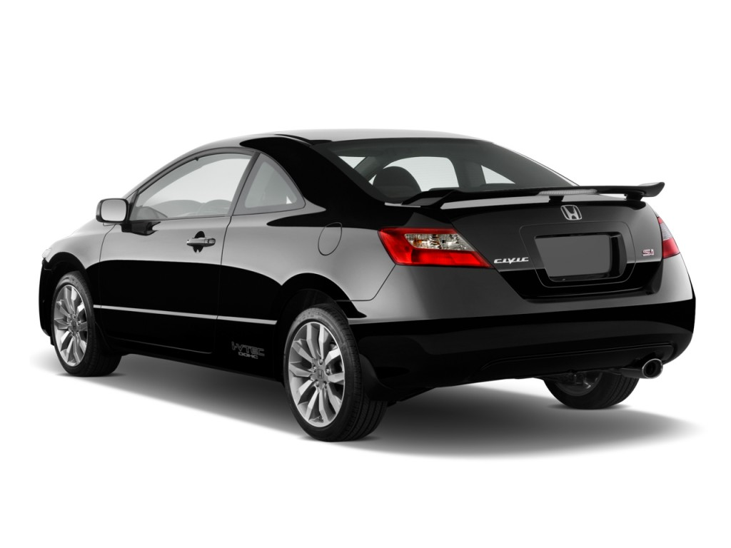Image 2011 Honda Civic Coupe 2 Door Man Si Angular Rear