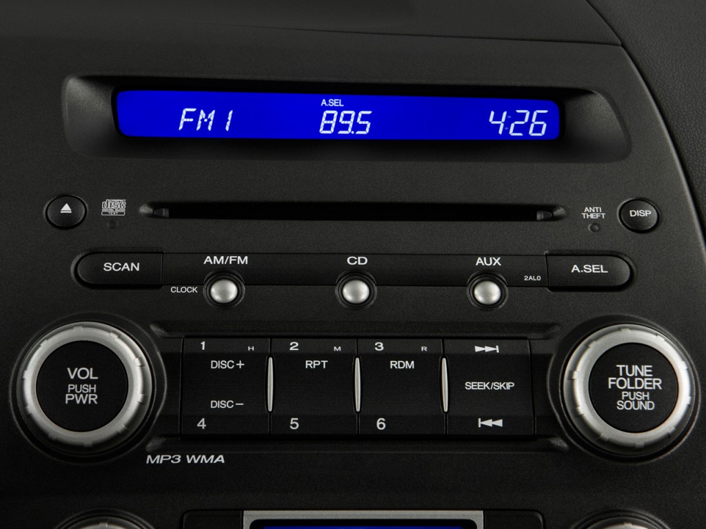 image 2011 honda civic hybrid audio system size 1024 x. Black Bedroom Furniture Sets. Home Design Ideas