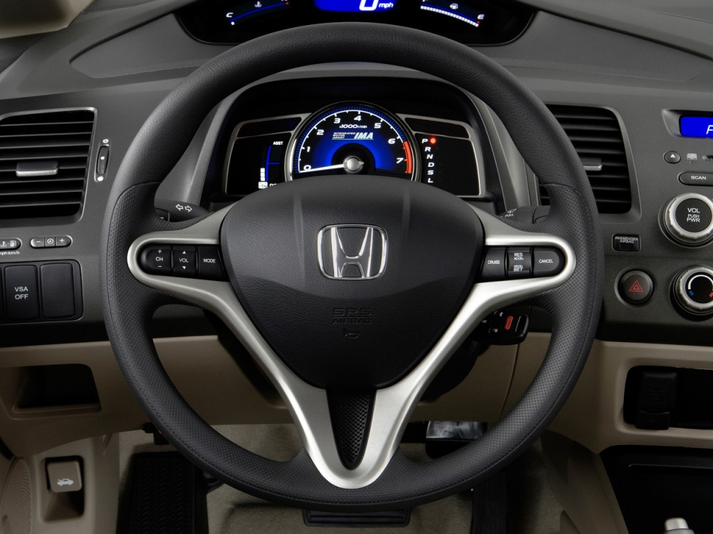2011 Honda Civic Hybrid Steering Wheel