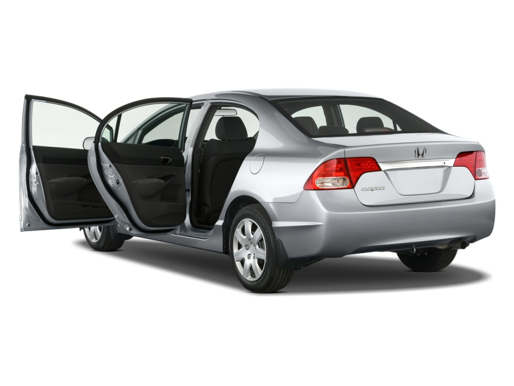 image 2011 honda civic sedan 4 door auto lx open doors. Black Bedroom Furniture Sets. Home Design Ideas